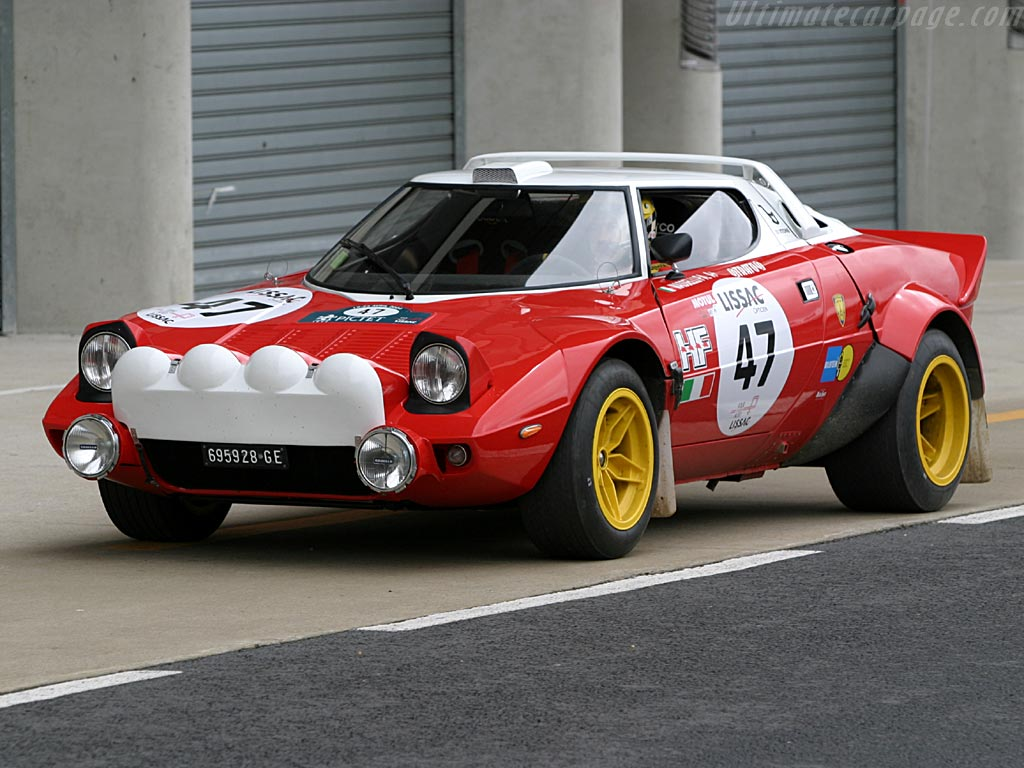 Car Vs Biker Girl Lancia Stratos Rally Cars Review Amp Pictures Gallery