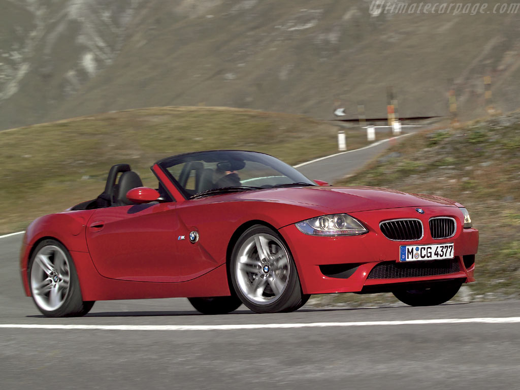 Bmw Z4 M Roadster High Resolution Image 1 Of 12