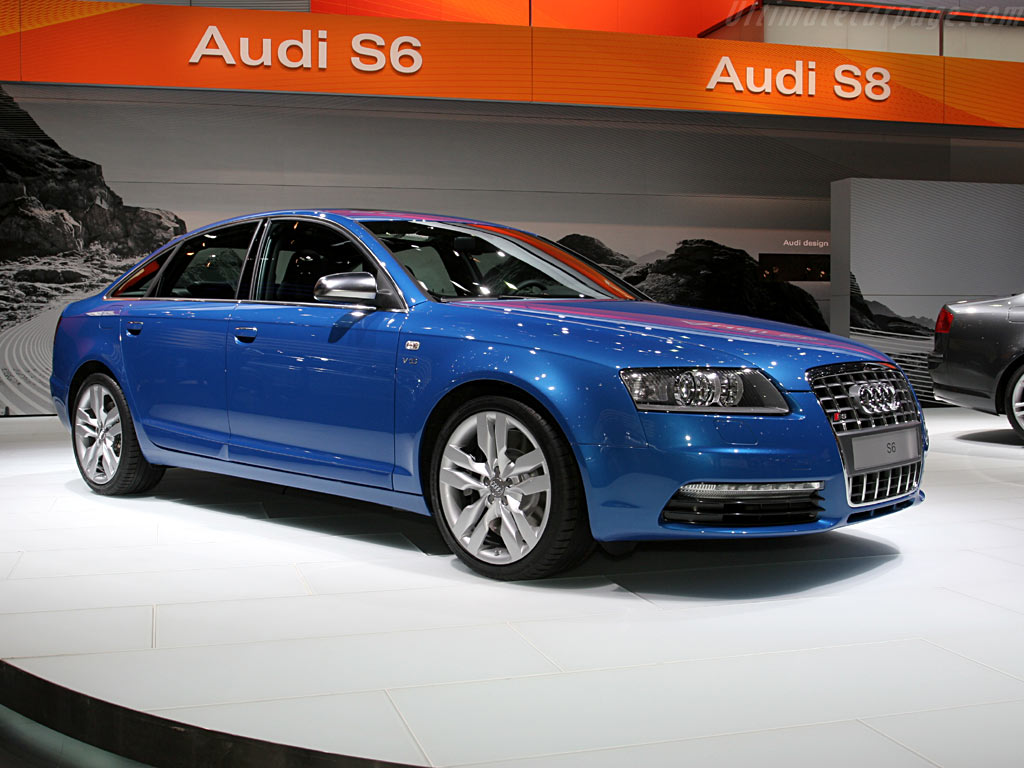 Audi S6 High Resolution Image 1 Of 6