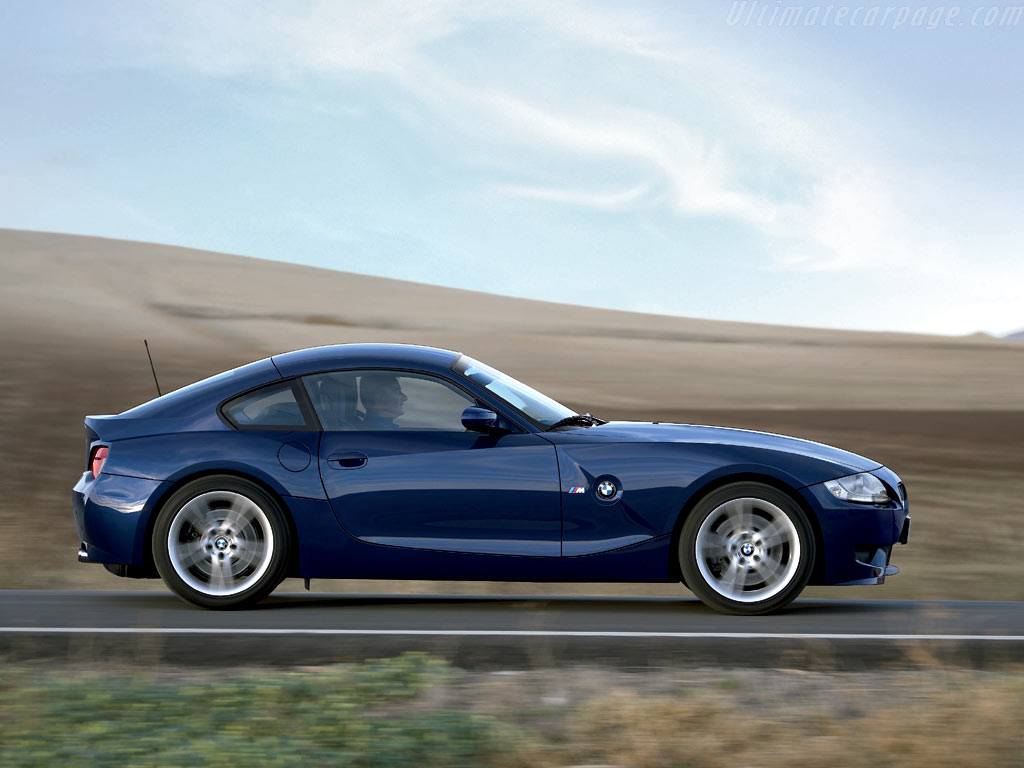 Bmw Z4 M Coupe High Resolution Image 3 Of 6
