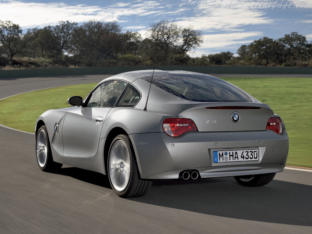 Bmw Z4 Coupe High Resolution Image 6 Of 6