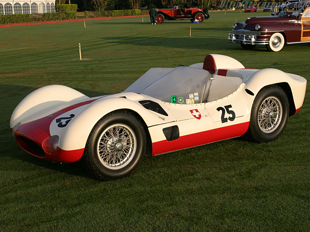 Maserati Tipo 61 Birdcage High Resolution Image 20 of 36
