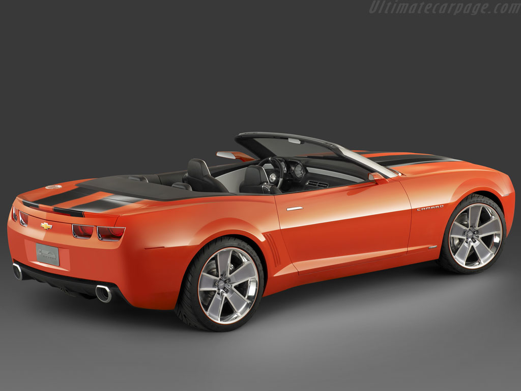 Chevrolet Camaro Convertible Concept High Resolution Image