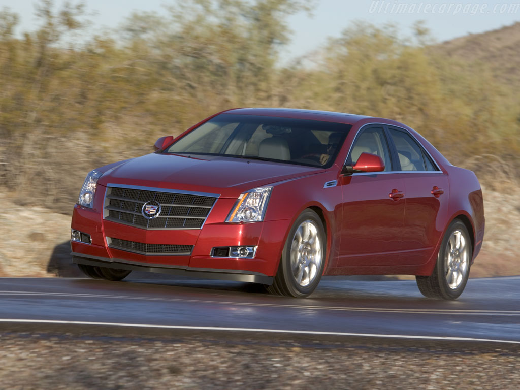 Cadillac cts high resolution image 1 of 12