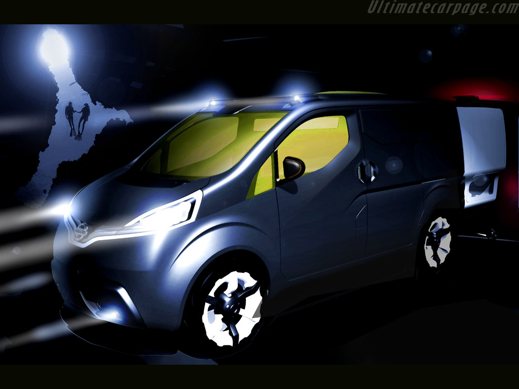 Nissan nv200 concept high resolution image 1 of 1