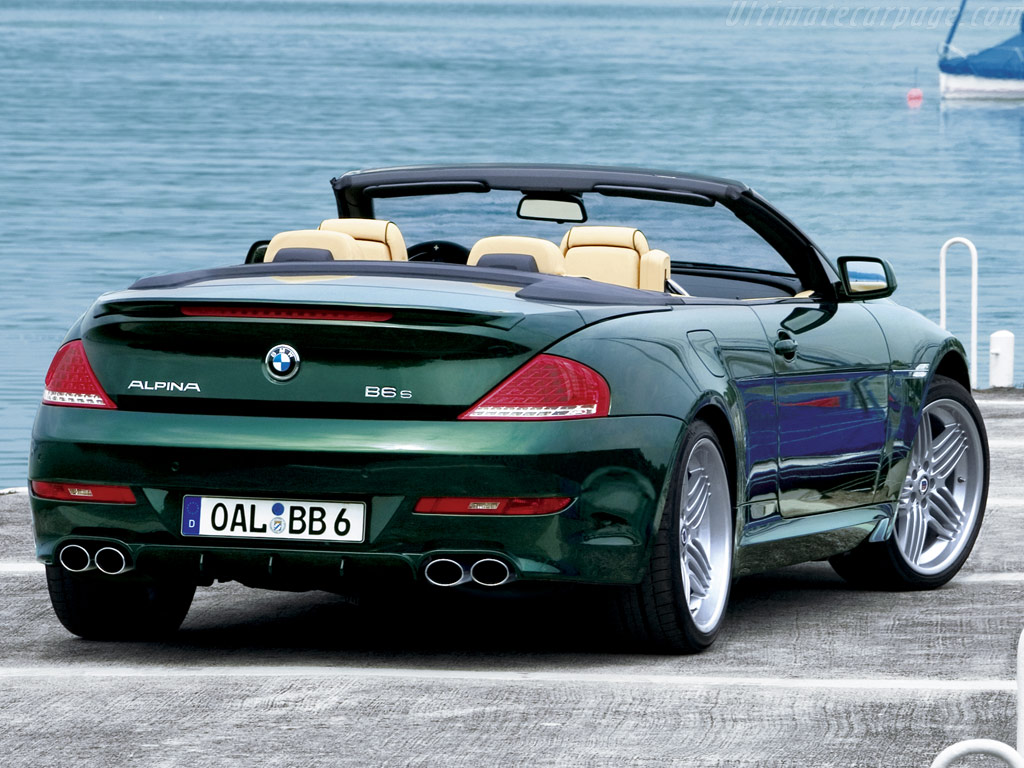 Alpina B6 S Cabriolet High Resolution Image 2 Of 3