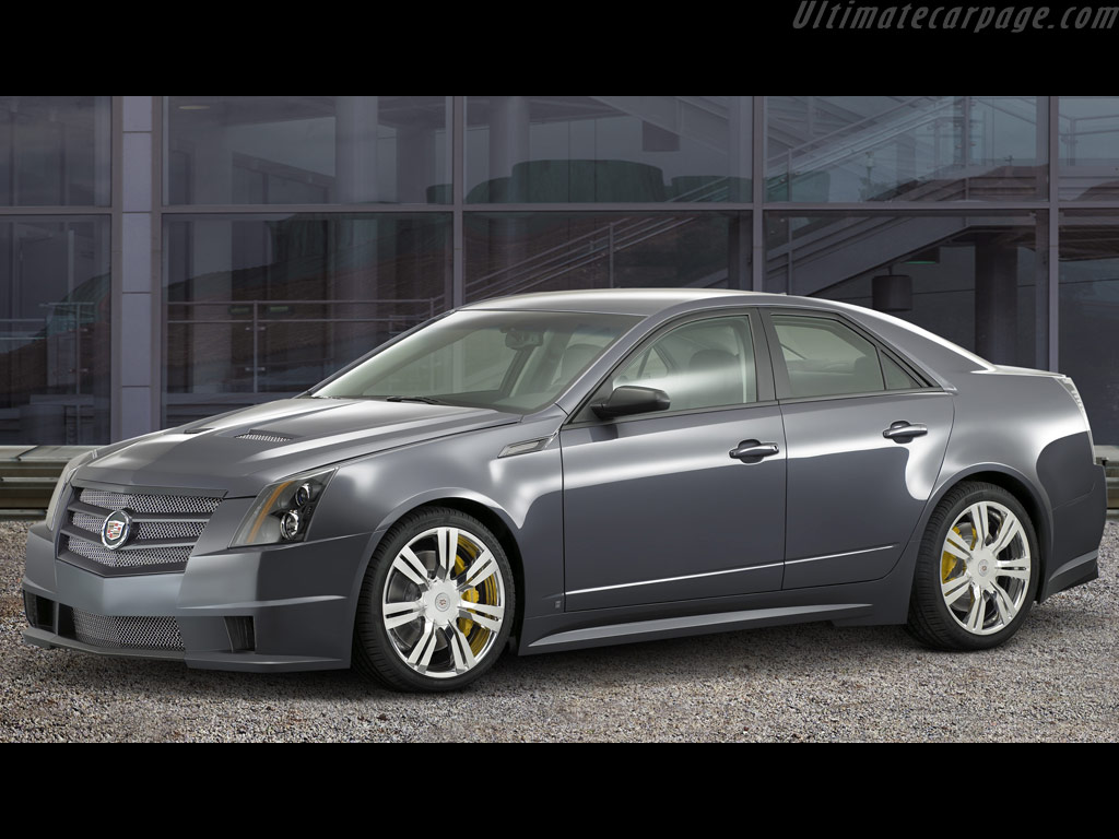 Cadillac cts sport high resolution image 1 of 3