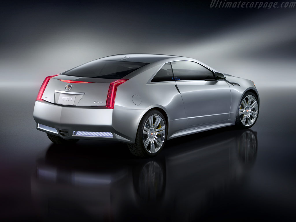 Cadillac cts coupe concept high resolution image 4 of 6