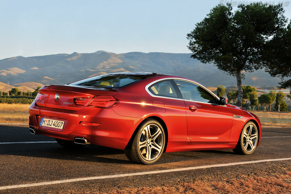 Bmw 650i coupe high resolution image 5 of 12