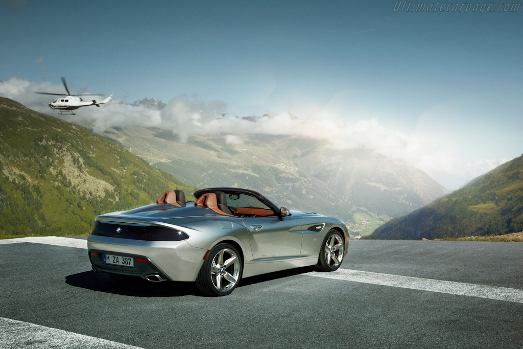Bmw Zagato Roadster High Resolution Image 12 Of 18